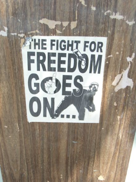 The Fight For Freedom Goes On