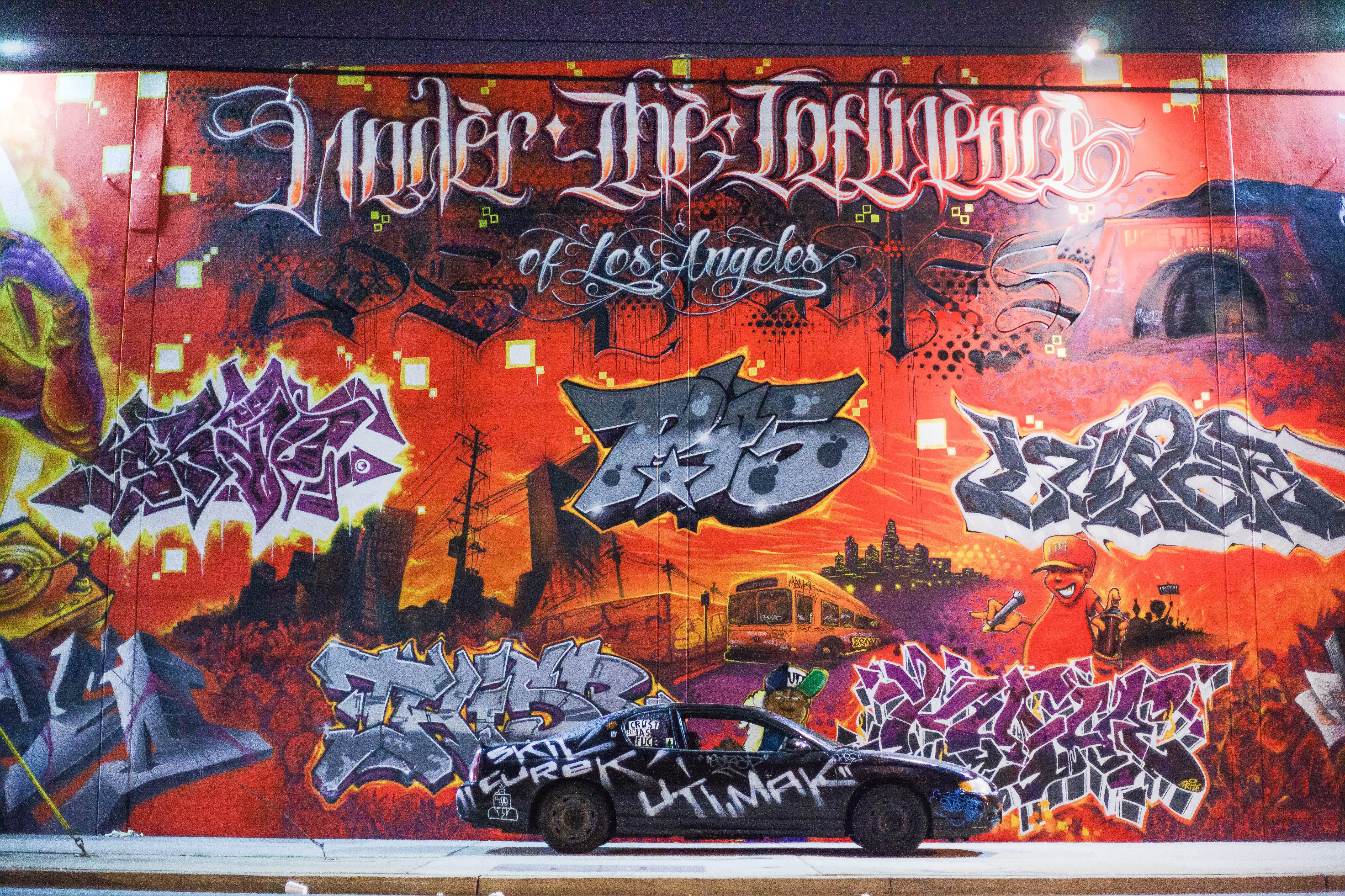 Wr la has gone through some phases in graffiti from mobbing buses the la river belmont tunnel even tag banging which seemed like a very dangerous and