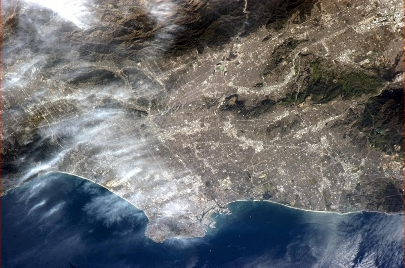 LA_FROM_SPACE