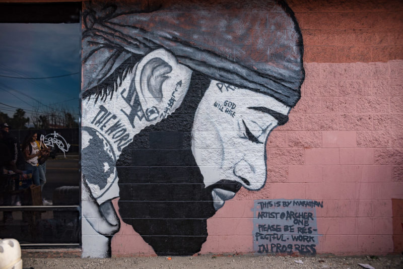 Hussle Motivate Nipsey Hussle Murals And Memorials Paint The Streets Of Los Angeles L A Taco