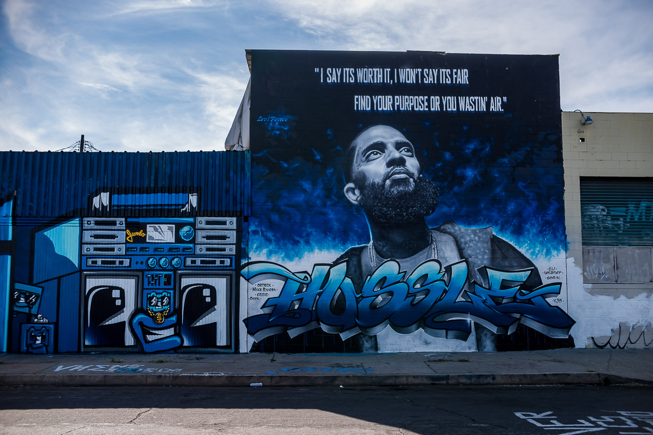 Image result for nipsey mural