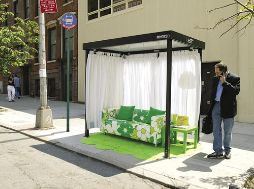 Bus Shelter ad by IKEA