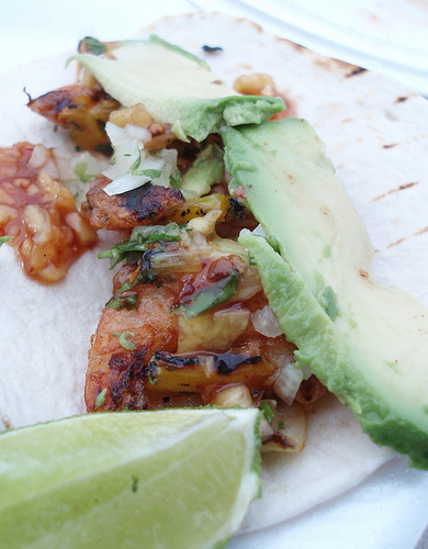 Grilled Shrimp Taco by azgalarneau