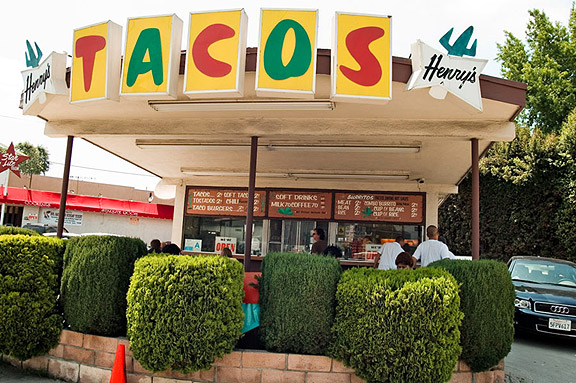 Henry's Tacos (Photo Credit: LosAnjealous)