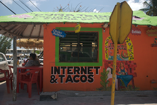 Internet and Tacos Photo by Dro!d via Flickr