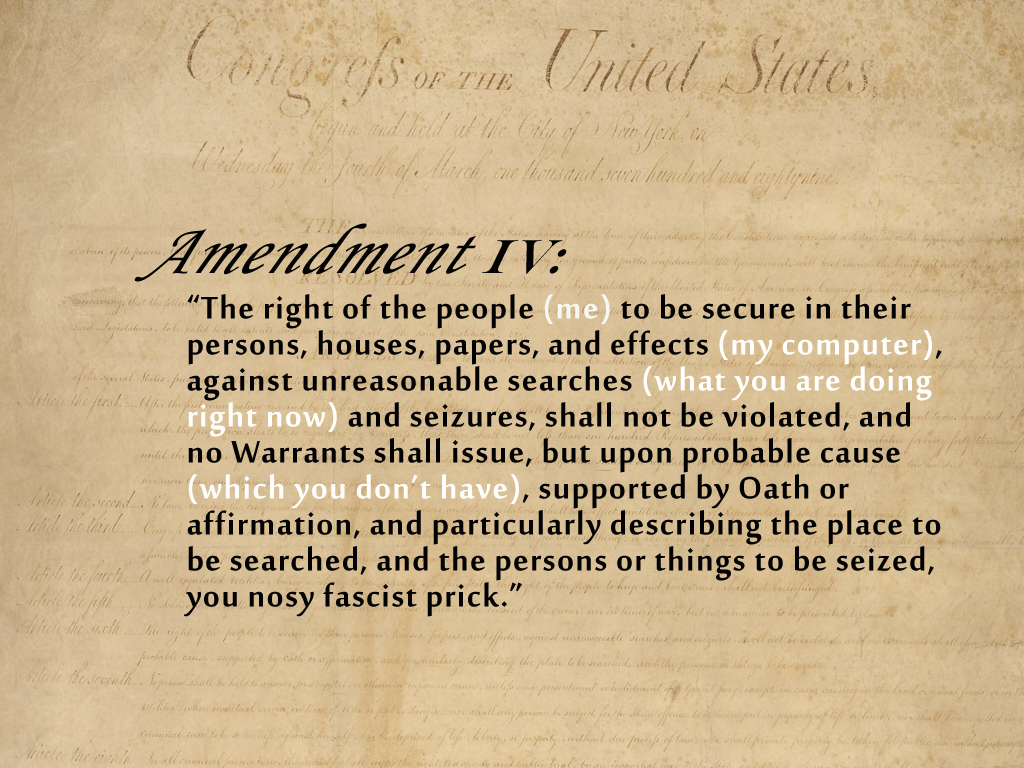 th amendment examples fourth amendment constitution us law lii legal